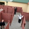 ROTF puzzled in Wanaka Puzzling World, New Zealand 2007