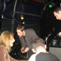 Yuval and fans, Aberdeen Jazz Festival, UK 2007