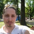 Yuval on Residents Of The Future baltics tour, 2008