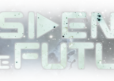 Residents Of The Future logo invert
