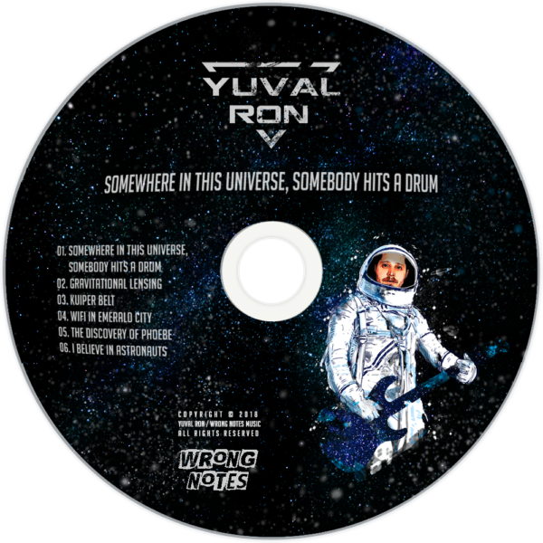 Universe CD cover demo