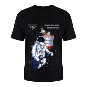 T-Shirt Yuval Ron - Somewhere in This Universe, Somebody Hits a Drum