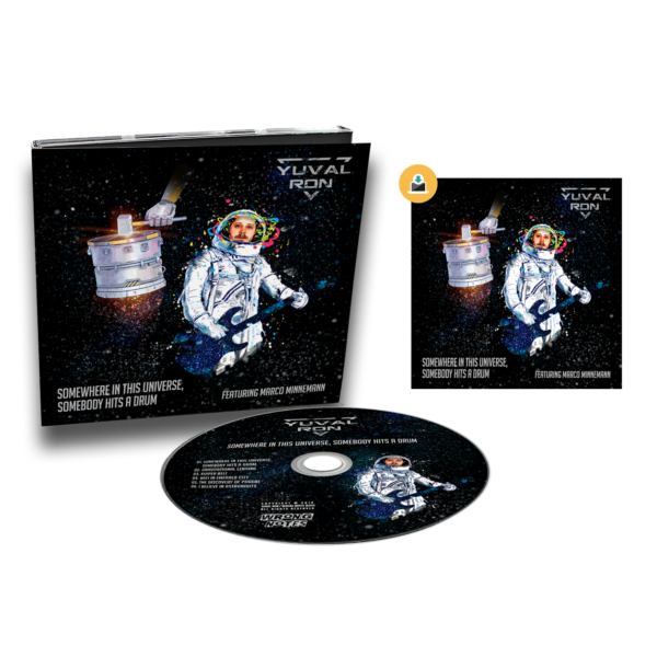 CD + Download Yuval Ron - Somewhere in This Universe, Somebody Hits a Drum